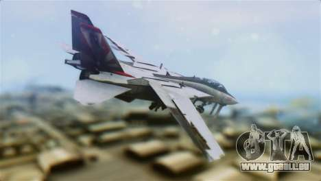 F-14A Tomcat VF-111 Sundowners High Visibility pour GTA San Andreas laissé vue
