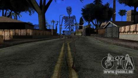 Skeleton Skin v3 für GTA San Andreas zweiten Screenshot