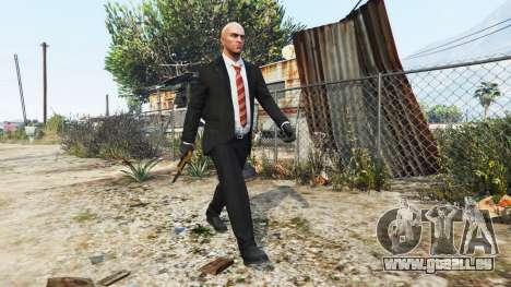 GTA 5 Hitman Agent 47 deuxième capture d'écran