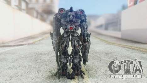 Shockwave Skin from Transformers v2 pour GTA San Andreas troisième écran