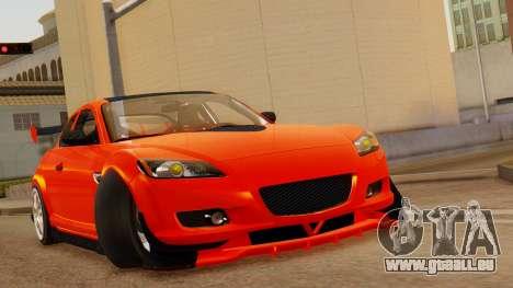 Mazda RX8 Drifter pour GTA San Andreas