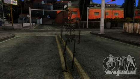 Skeleton Skin v3 für GTA San Andreas dritten Screenshot