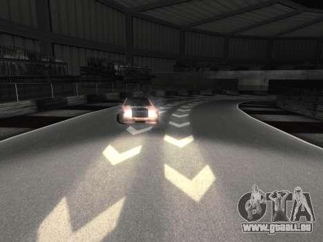 De nouvelles textures de la piste 8 Piste pour GTA San Andreas deuxième écran