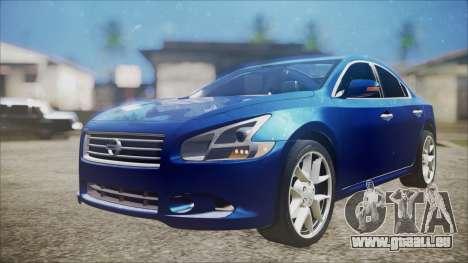 Nissan Maxima 2009 für GTA San Andreas