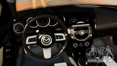 Mazda RX8 Drifter pour GTA San Andreas vue de droite