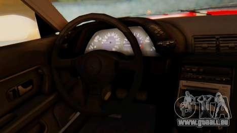 Nissan Skyline R32 Monster pour GTA San Andreas vue de droite