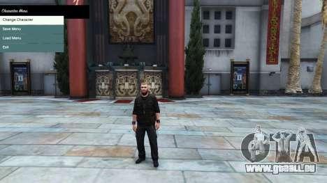 GTA 5 Le menu du personnage
