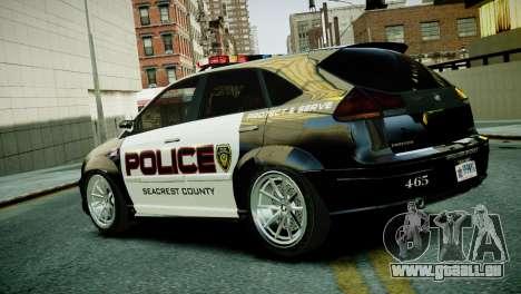 Subaru Impreza WRX STI Police für GTA 4 linke Ansicht