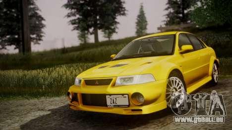 Mitsubishi Lancer Evolution VI 1999 PJ pour GTA San Andreas