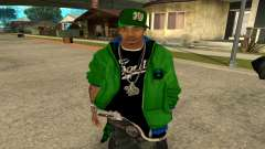 Groove St. Nigga Skin Second pour GTA San Andreas