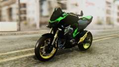 Kawasaki Z800 Modified für GTA San Andreas