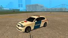 BMW 120i E87 de la Police hongroise