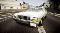 Ford LTD Crown Victoria 1987 Detective [ELS] für GTA 4