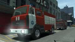 MAZ 533702 de l'EMERCOM de Russie