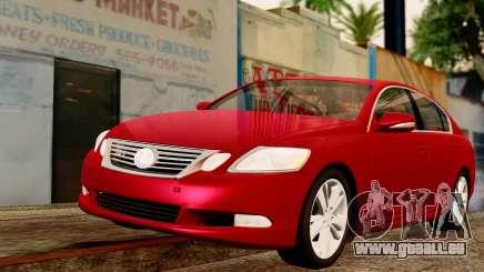 Lexus GS 350 2008 pour GTA San Andreas