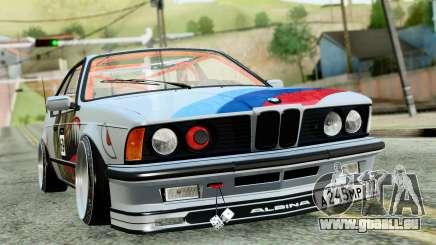 BMW M635CSi E24 1984 pour GTA San Andreas