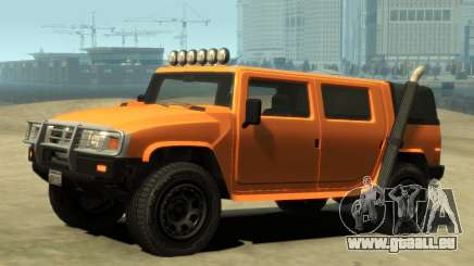 Mammoth Patriot Pickup v2 pour GTA 4