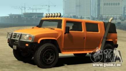 Mammoth Patriot Pickup v2 für GTA 4