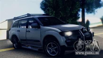 Mitsubishi Pajero 2014 Sport Dakar Offroad pour GTA San Andreas