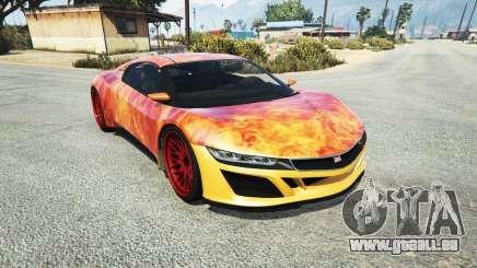 Dinka Jester (Racecar) Flame pour GTA 5