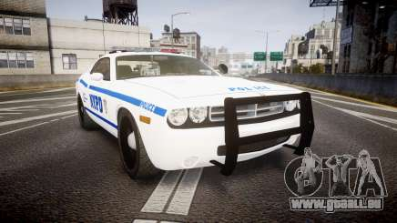 Dodge Challenger NYPD [ELS] pour GTA 4