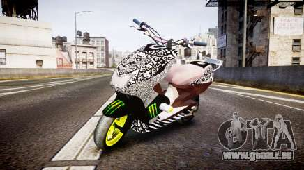 Yamaha Aerox Stunt pour GTA 4