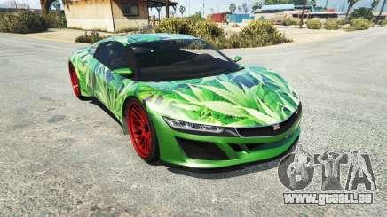 Dinka Jester (Racecar) Cannabis pour GTA 5