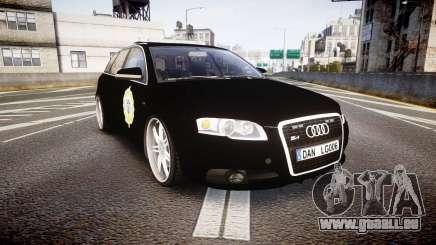 Audi S4 Avant Serbian Police [ELS] pour GTA 4