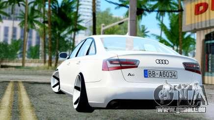 Audi A6 Stanced für GTA San Andreas