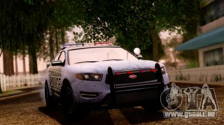 GTA 5 Vapid Police Interceptor v2 SA Style für GTA San Andreas