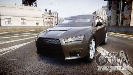 GTA V Karin Kuruma Armored gloss paint pour GTA 4