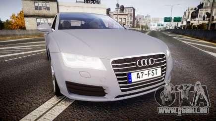 Audi A7 pour GTA 4