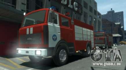 MAZ 533702 von EMERCOM Russlands für GTA 4