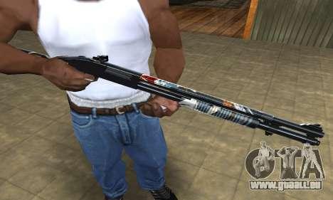 Sportive Shotgun pour GTA San Andreas