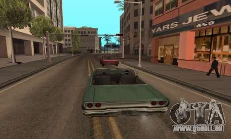 Augmenter l'amplitude de la vectorisation pour GTA San Andreas quatrième écran