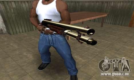 Very Big Shotgun pour GTA San Andreas deuxième écran