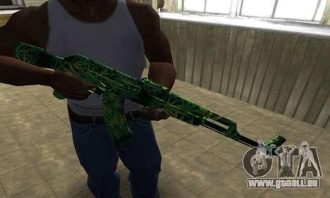 Ganja АК-47 für GTA San Andreas