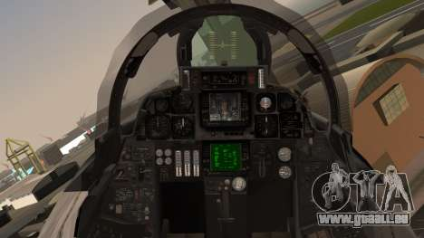 F-14B Bombcat VF-11 Red Rippers für GTA San Andreas Rückansicht
