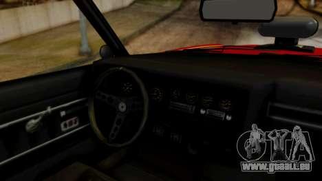 GTA 5 Albany Virgo pour GTA San Andreas vue arrière