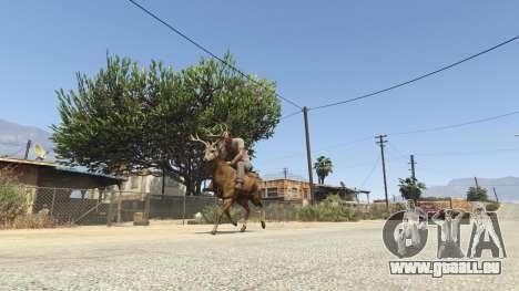 GTA 5 Ride A Deer [.NET] 0.2b vierten Screenshot