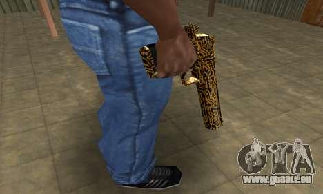 Microshem Deagle pour GTA San Andreas