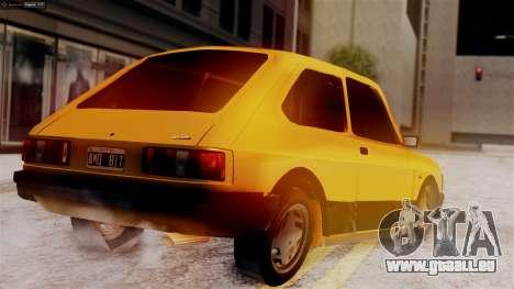 Fiat 147 Al Piso pour GTA San Andreas laissé vue