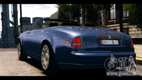 Rolls-Royce Phantom 2013 Coupe v1.0 pour GTA 4 est une gauche