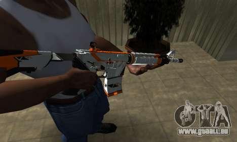 M4 Asiimov für GTA San Andreas