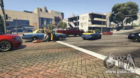 GTA 5 Police Chase Random Event dritten Screenshot