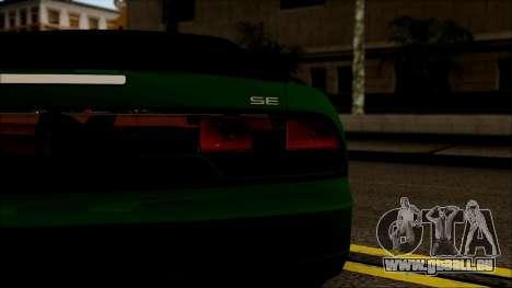 Nissan 240SX S13 pour GTA San Andreas vue arrière
