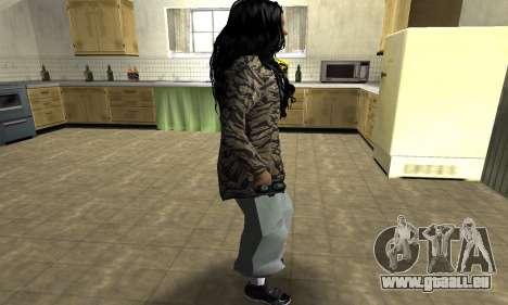 Cool Tokio Girl pour GTA San Andreas deuxième écran