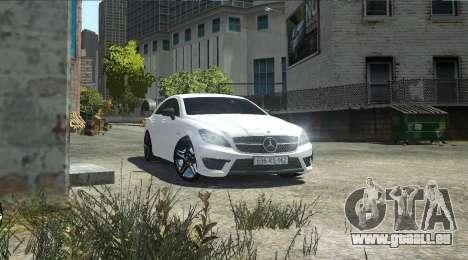 Mercedes-Benz CLS 63 AMG pour GTA 4