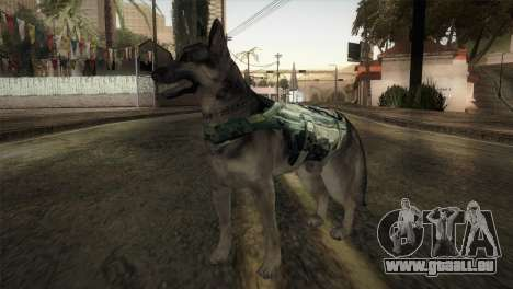 COD Ghosts - Riley Skin pour GTA San Andreas deuxième écran