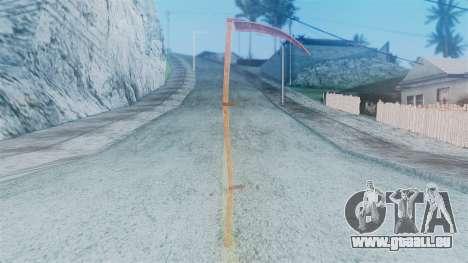 Red Dead Redemption Scythe pour GTA San Andreas deuxième écran